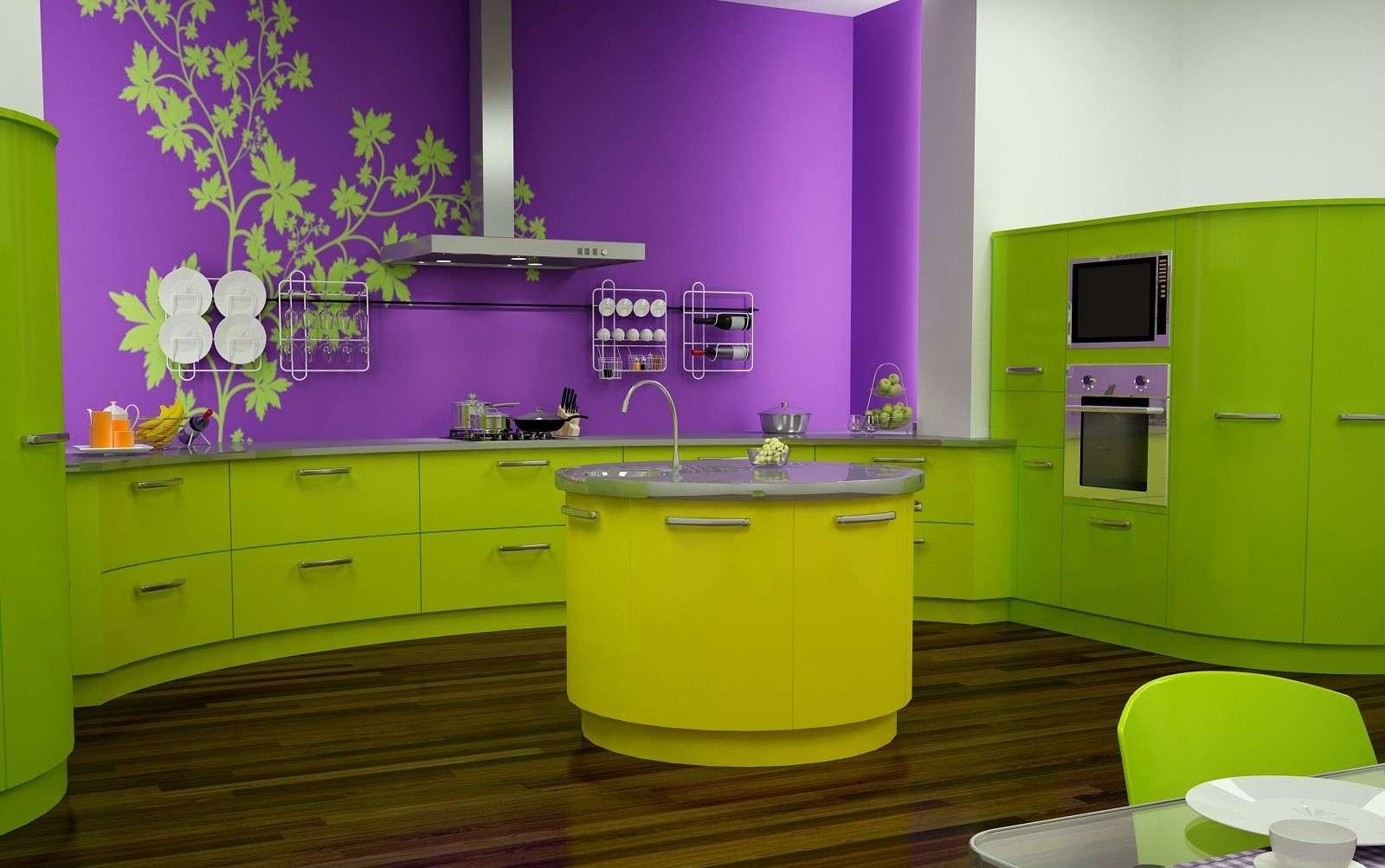 фарбування кухні