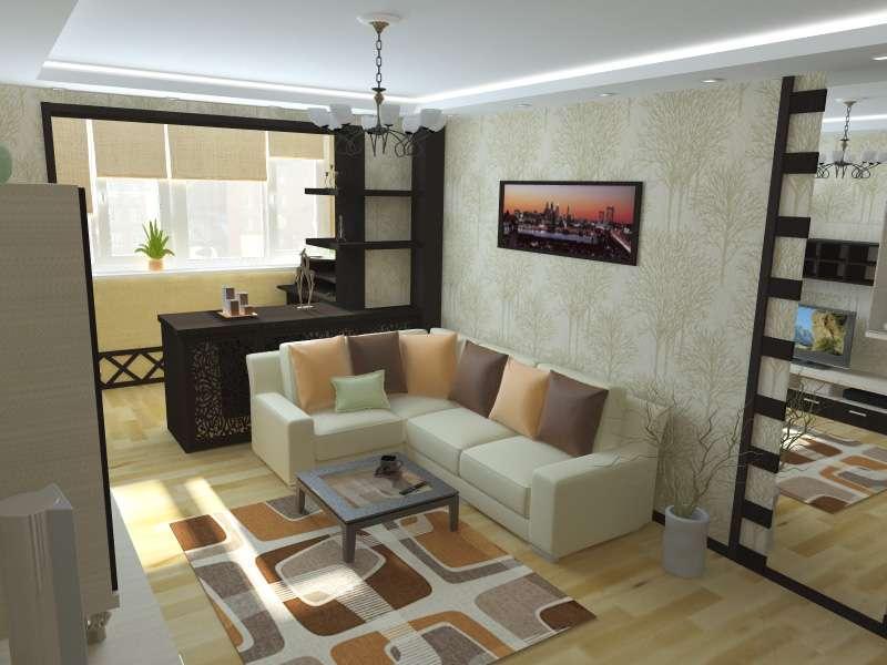 розширення маленької квартири