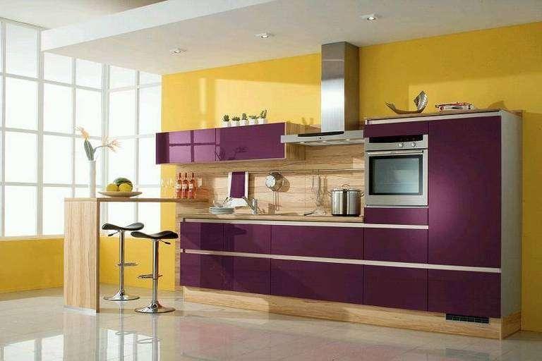 двоколірна кухня