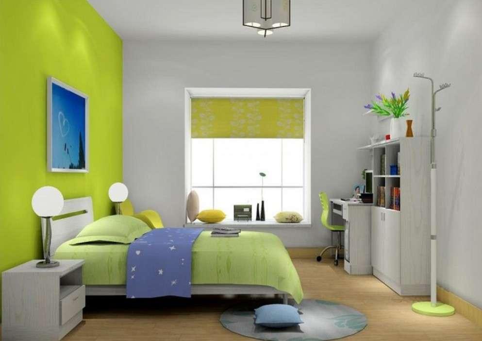 стіни в спальні