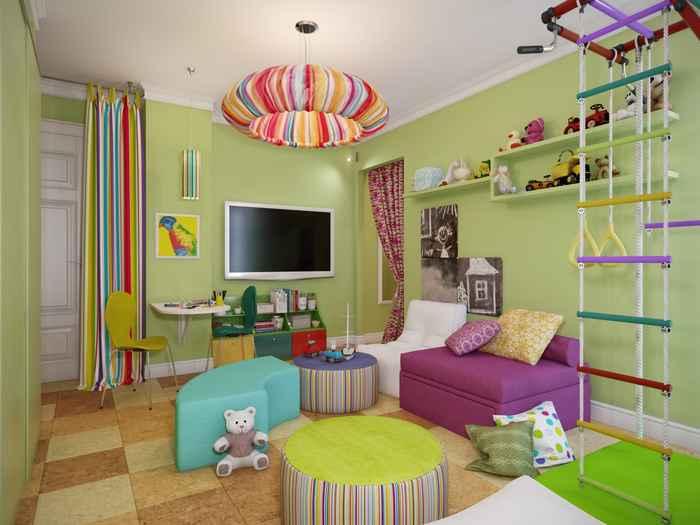 колір дитячої кімнати