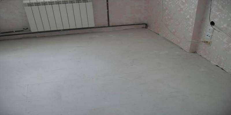 Ремонт підлогового покриття в новій квартирі